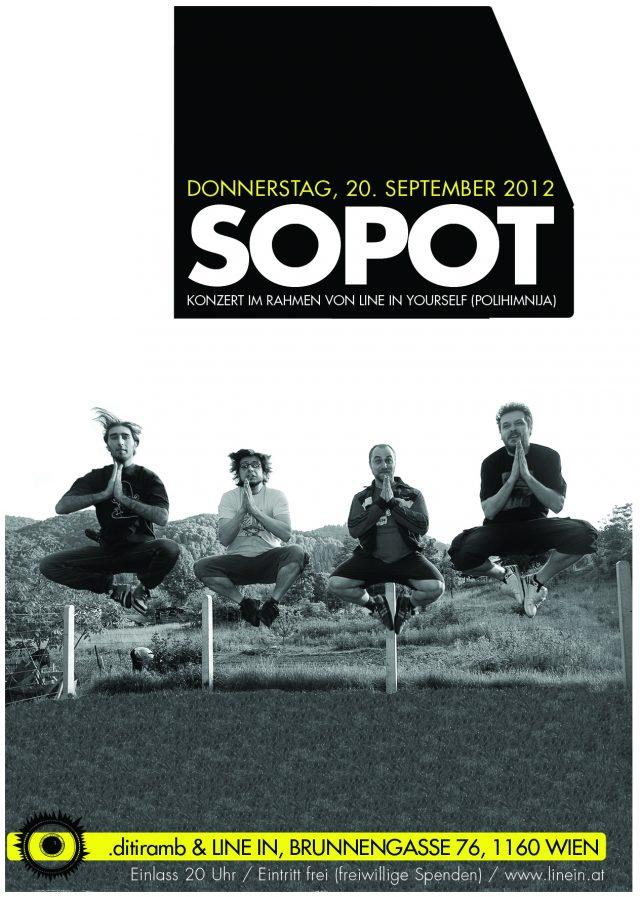 SOPOT flyer print